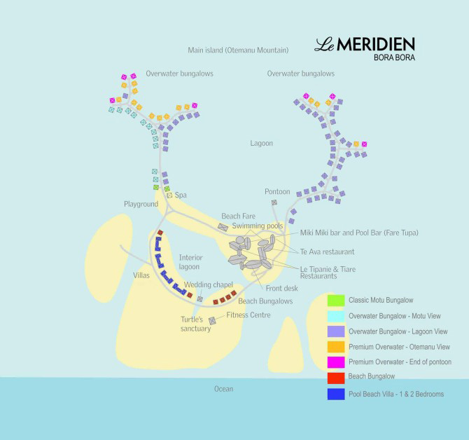 Le Meridien Bora Bora Deals  Packages  Pacific for Less